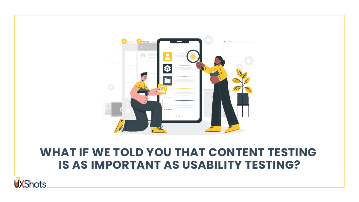 How and Why you should test yourcontent.